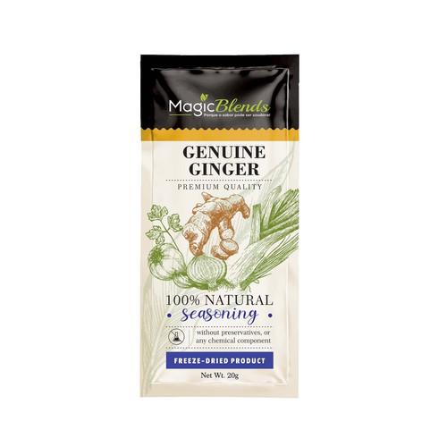 genuine ginger pack