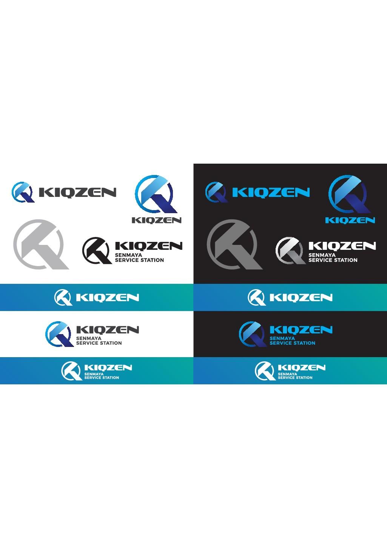 Please design at a glance that it is KIQZEN logo.