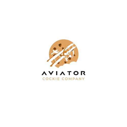 Cookies company with aviation theme