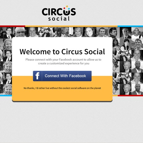 CircusSocial.com needs a new website design