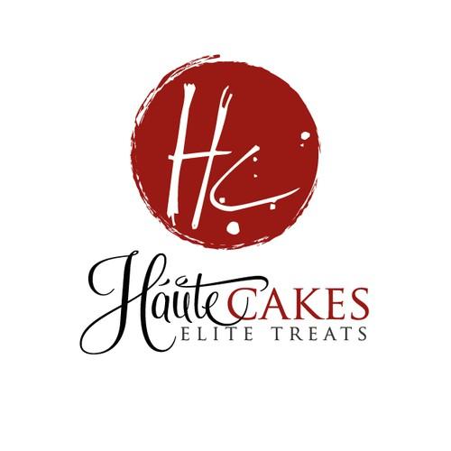 artistic cake and bakery logo