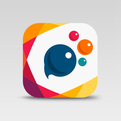 a new app icon for PicsArt