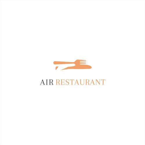 Logo concept for a restaurant.