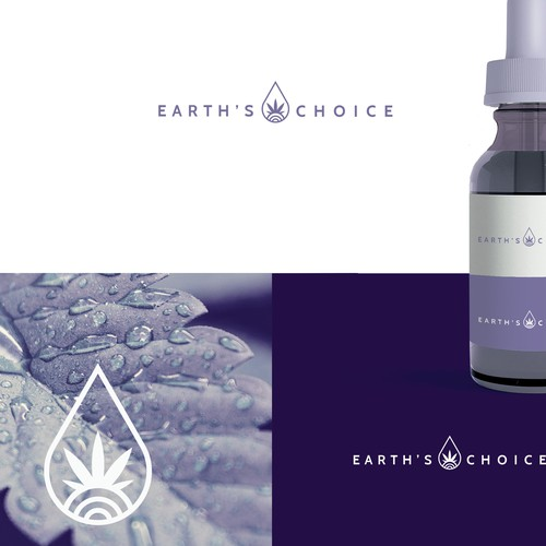 Earth choice cbd tincture logo