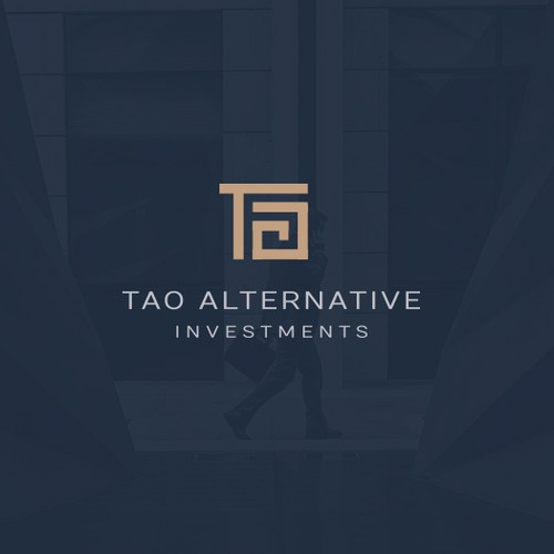 Elegant and sophisticated logo for investment firm