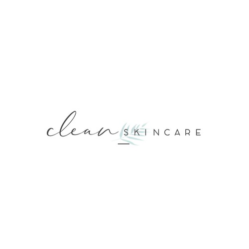 Logo an website for Clean Skincare