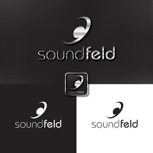 Logo concept for sound equipment
