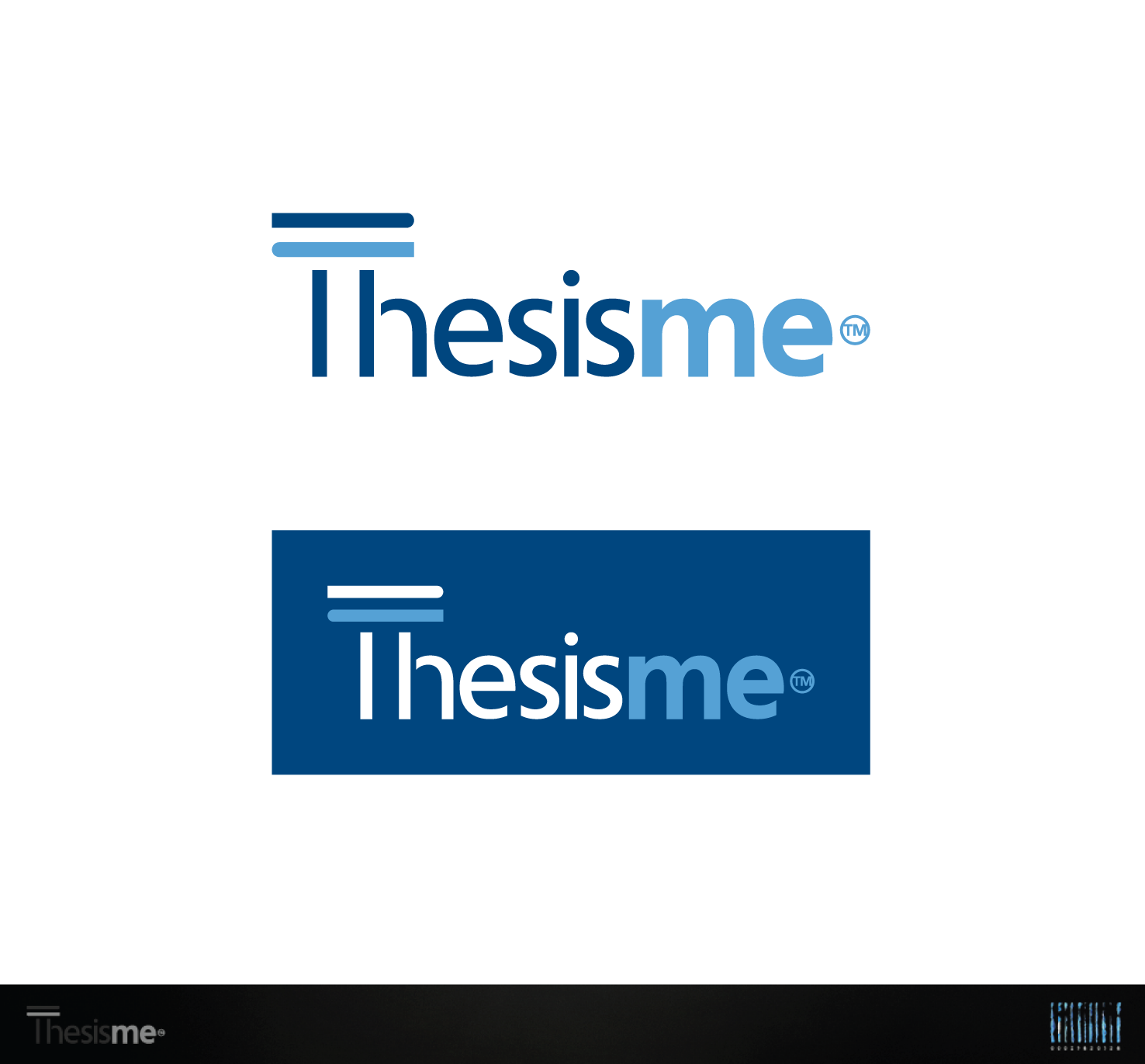 Create the next logo for Thesisme