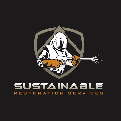 Dry-ice blasting logo