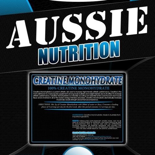 Aussie Nutrition Label