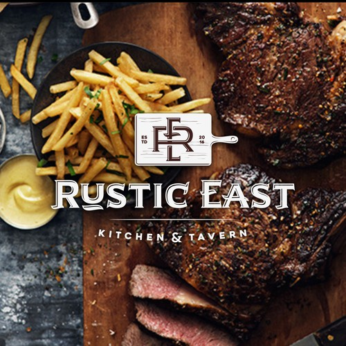 logo for RUSTIC EAST