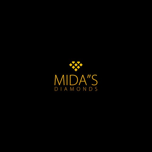Logo concept for MIDA'S Diamonds