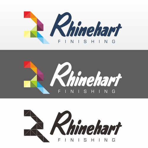 Full color logo for rhinehart