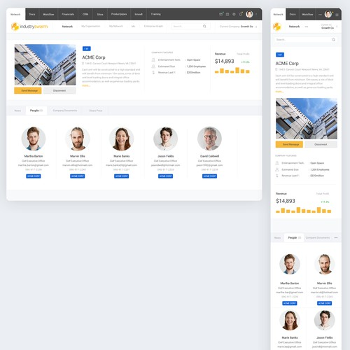 Creative Web App Design