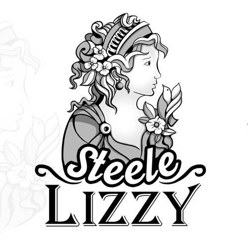 Steele Lizzy Logo Design