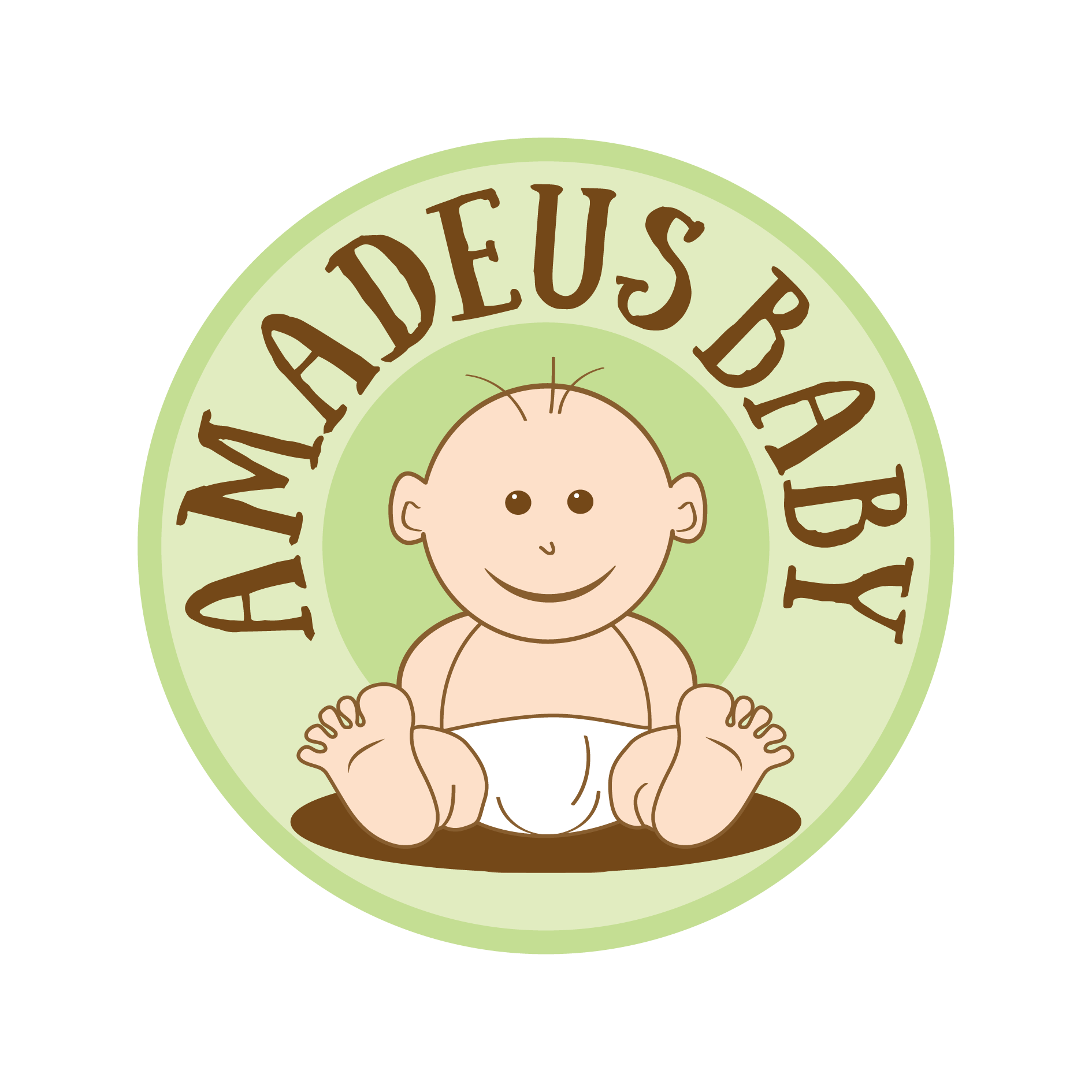 A brand logo for a babycare product line