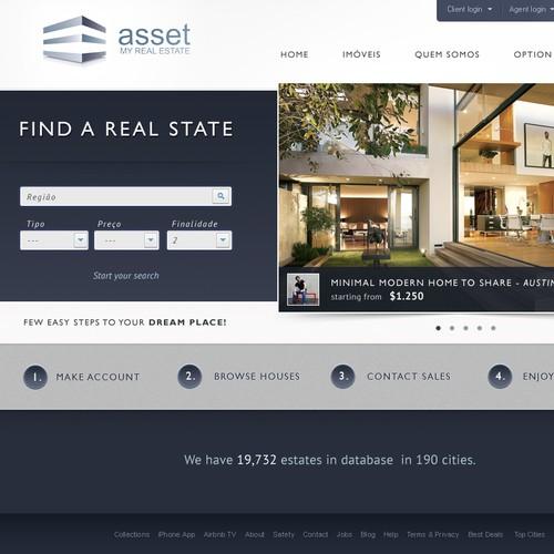 New website design wanted for Asset Real Estate