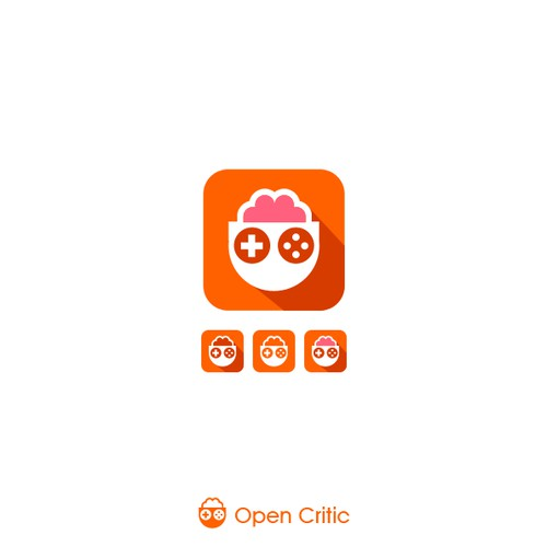 Simple logo for Open Critic