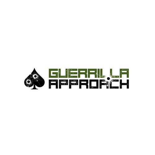 "Logo design for ""GUERRILLA APPROACH"""