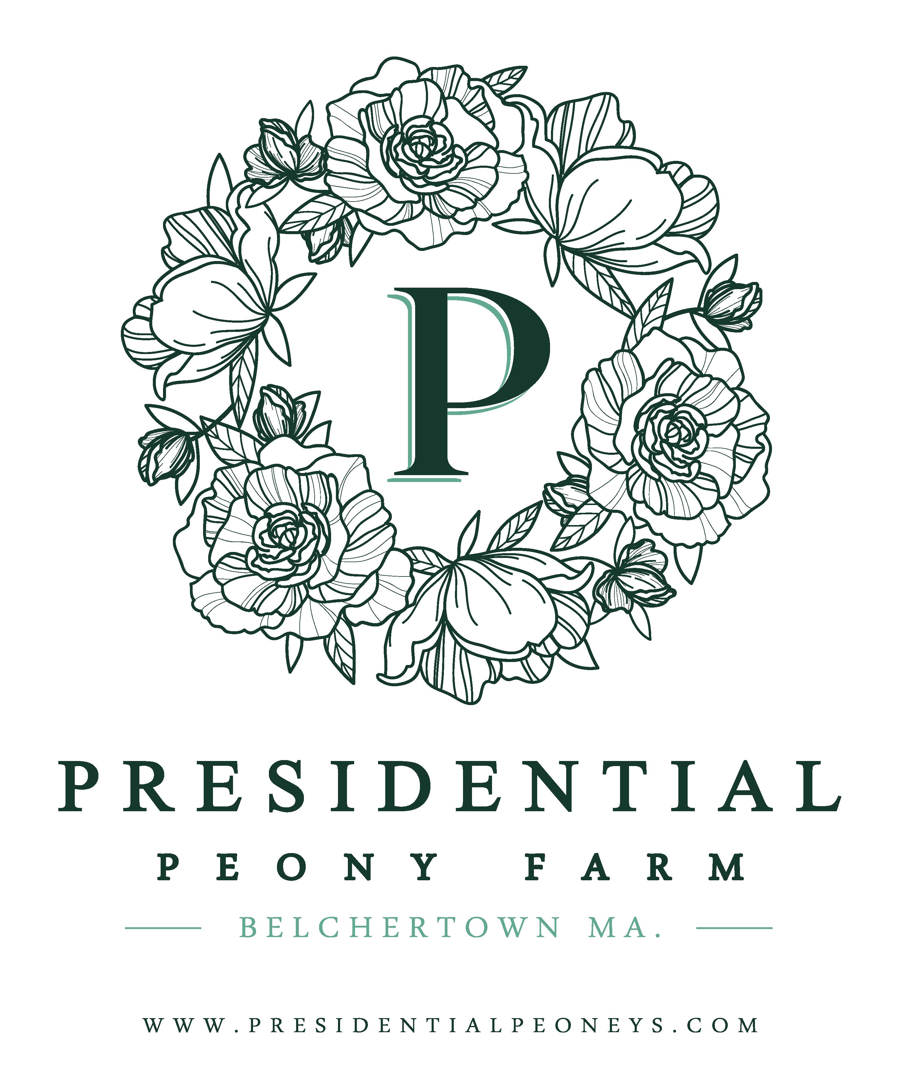 Top quality Peony, flower Farm needs a classy Logo