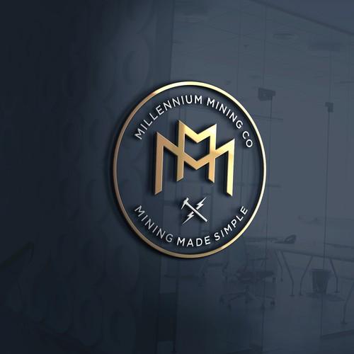 Logo Concept for Millennium Mining