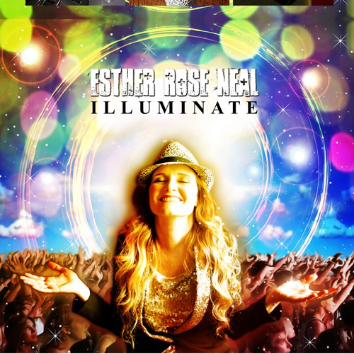 CD Artwork for New Powerful Original Worship Project by Esther Rose Neal