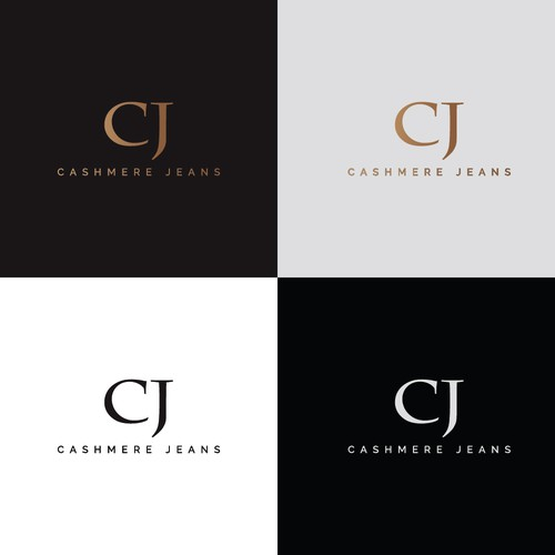 Attractive smoothy Logo Conept for Cashmere Jeans