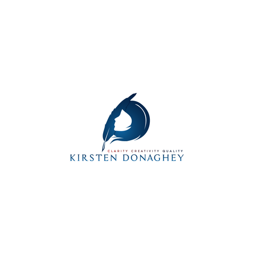 Creative and bold logo for Kirsten Donaghey