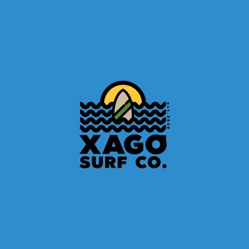 Surf logo design