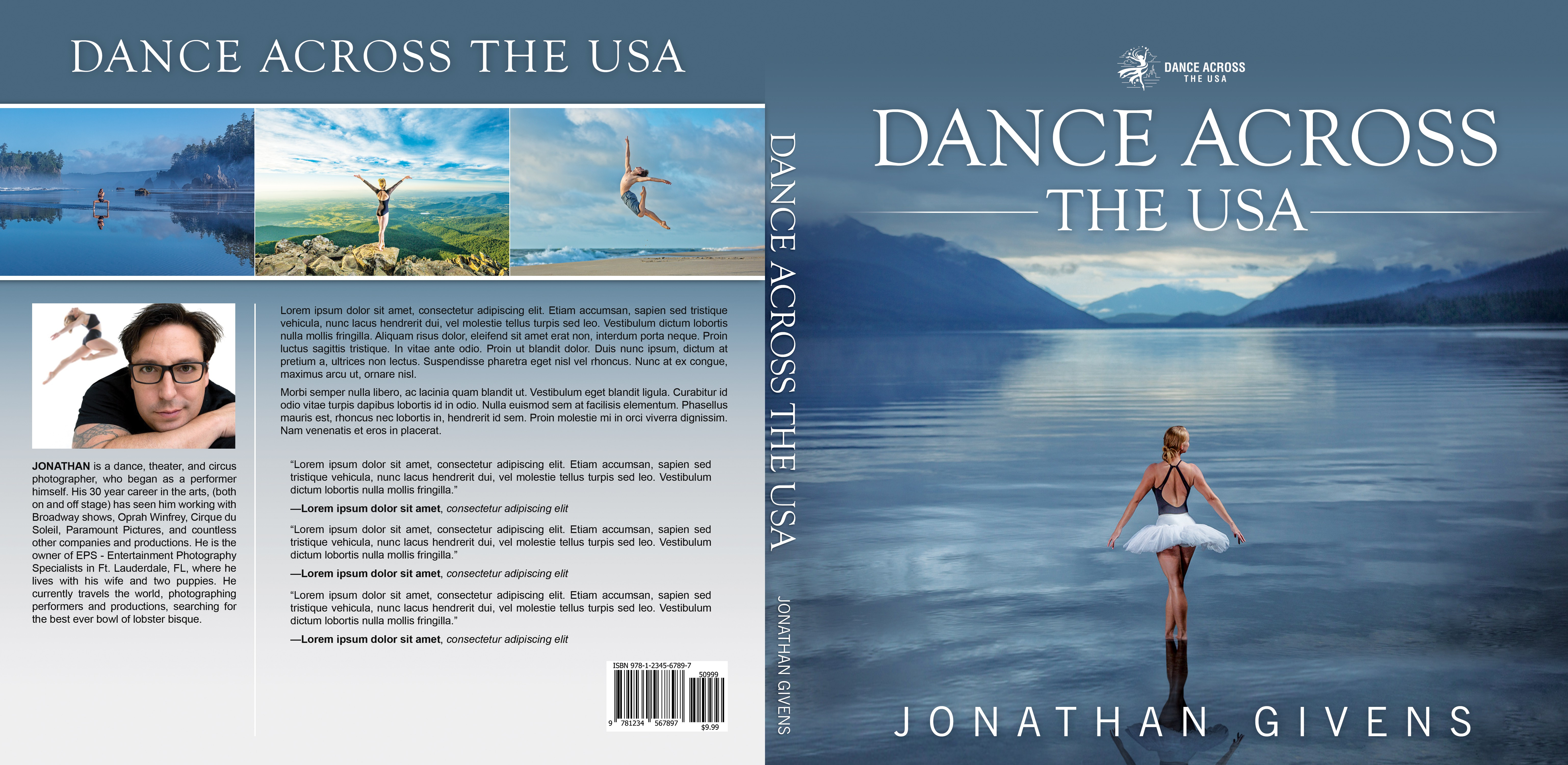 Dance Across the USA book cover contest - soon to be a Best Seller!