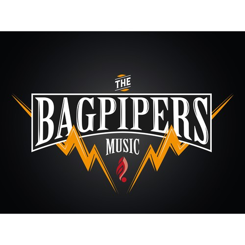 Logo concept for a Rock Band