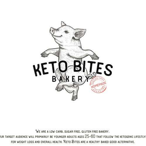Dancing Pig -Keto Bakery- Concept