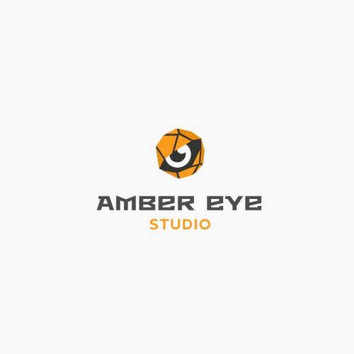 Amber eye logo