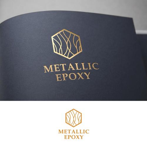 Metallic Epoxy Logo