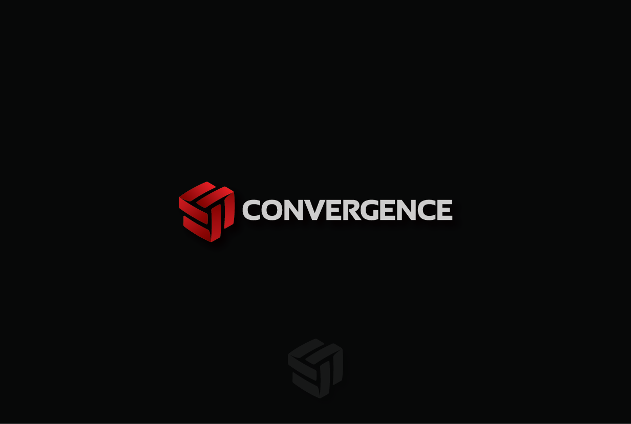 Create a contemporary industrial logo for Convergence