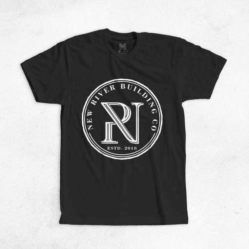 New River Building Tshirt