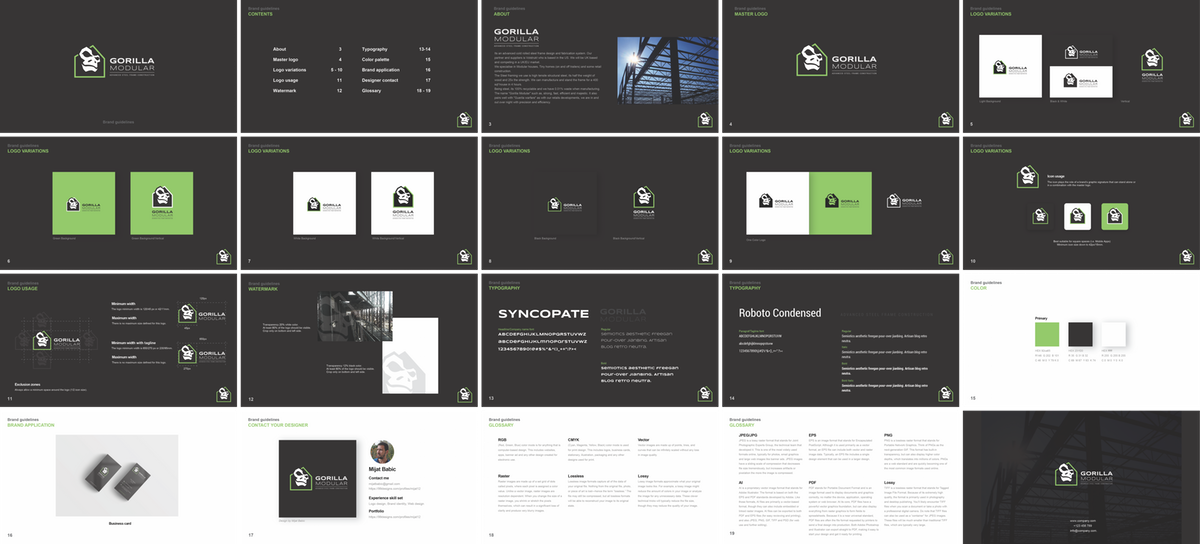 Gorilla Modular Brand Guide