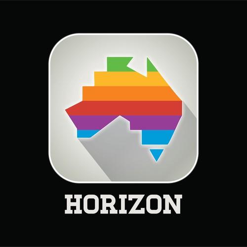Logo and app icon for Horizon