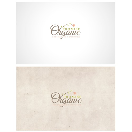 Logo for organic/cosmetic company
