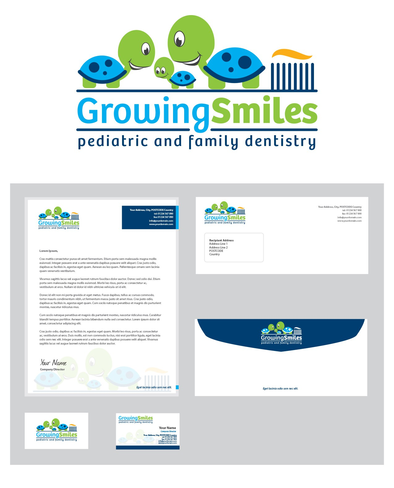 Make our patient's smiles grow with a new logo for Growing Smiles!