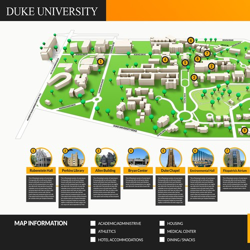University Map Infographic