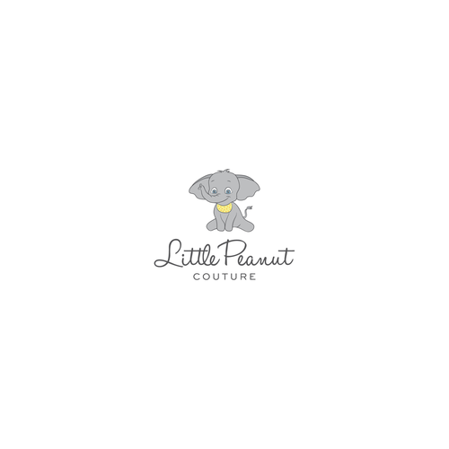Little peanut fashion logo