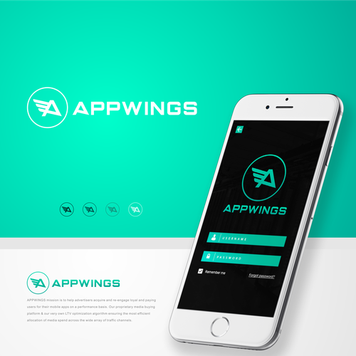 Logo and Identity concepts for APPWINGS