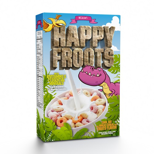 Cereal Packaging design