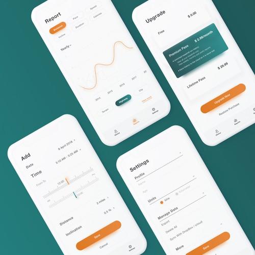 Minimal App Design Concept