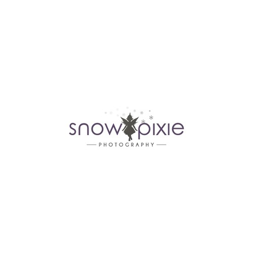 snow pixie logo