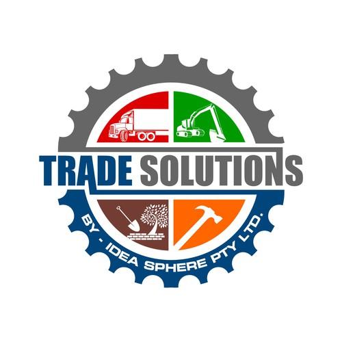 a logo for a logistics company