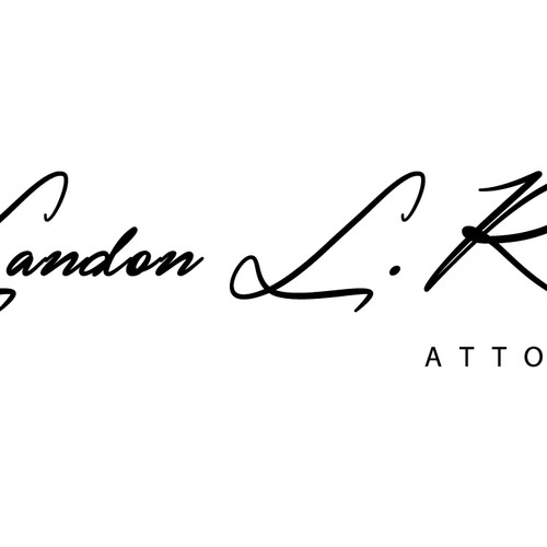 Landon L. Reed - attorney- logo design