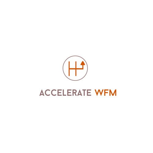 Create an awesome time and attendance tracking logo for Accelerate