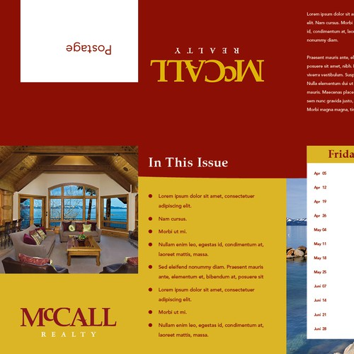 Help McCall Realty with a new brochure design